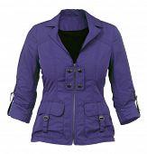 image of jupe  - violet women jacket - JPG
