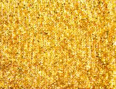 picture of gold glitter  - the golden luxury abstract background close up - JPG