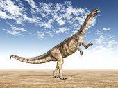 Dinosaur Plateosaurus