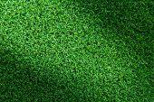 Artificial Grass. Grass Texture Or Grass Background. Green Grass For Golf Course, Soccer Field Or Sp poster