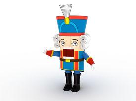 stock photo of tchaikovsky  - Nutcracker statuette  - JPG