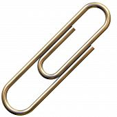 Chrome Paperclip
