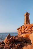 Lighthouse On A Rocky Coast