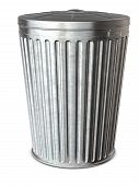 Trash Can & Clipping Path