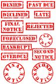 Grungy Rubber Stamps