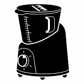 Kitchen Cooker Icon. Simple Illustration Of Kitchen Cooker Vector Icon For Web Design Isolated On Wh poster