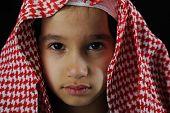 Arabic sad boy