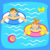 Pool With Children