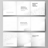 Vector Layout Of Square Covers Design Templates For Trifold Brochure, Flyer, Cover Design, Book Desi poster