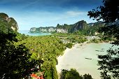 Railay Beach Krabi Thailand