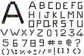 Domino Alphabet