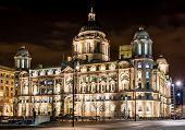 Historical Royal Liver Building