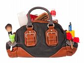 Overflowed handbag