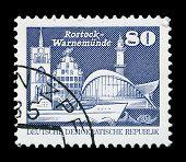 Gdr Post Stamp