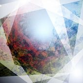 stock photo of superimpose  - background abstract colorfull  with light reflections superimposed - JPG