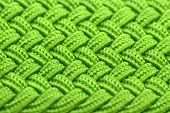 Green Interwoven Fabric Texture