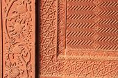 Architecture Detail In Fatekhpur Sikri, India