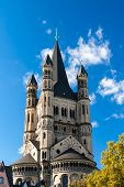 stock photo of koln  - Saint Martin - JPG