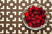 Frozen Cranberries.