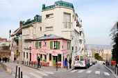 Pink House - Historical Bistro On Montmartre, Paris,