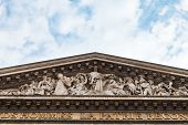 Fronton Of Pantheon, Paris