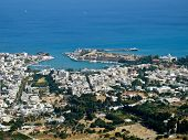 Kos Town, Aerial