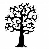 Scary Horror Movie Tree