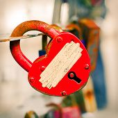 Red Key From Heart Of Love