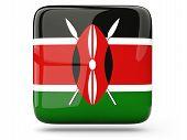 Square Icon Of Kenya