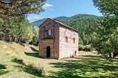 Romanesque Church In The Spanish Pyrenees