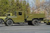 Retro Military Lorry