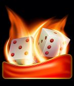 Two Burning Dices
