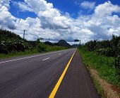 Highway 44 Near Krabi, Thailand