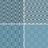 Seamless argyle blue pattern