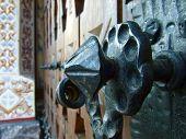 Handmade old doorknob - Monastery Izvorul Muresului
