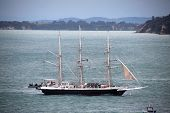 Tall Ship Lord Nelson In Auckland