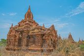Ancient Buddhist Temples In Bagan
