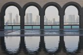 Doha Skyline, Qatar December 2008