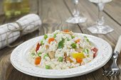 Risotto With Chicken And Vegetables