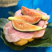 Fig and Ham Sandwich