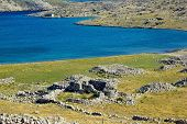 picture of luka  - Historic church ruins Island of Krk Croatia  - JPG