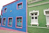 Beautiful colorful houses in Olinda