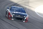 Fort Worth, TX - Apr 04, 2014:  Kurt Busch (41) brings his race car through the turns during a pract
