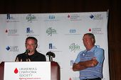 LOS ANGELES - APR 14:  Tim Curren, Dennis Wagner at the Jack Wagner Anuual Golf Tournament benefitti