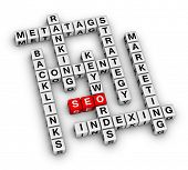 SEO search engine optimization crossword puzzle