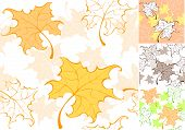 Pattern From Autumn Sheet