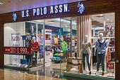 Us Polo Assn Store Clothes In The Mall Metropolis