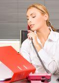 Office-Mädchen