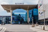 New railway station in Katowice