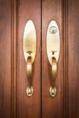 door handles with keyhole